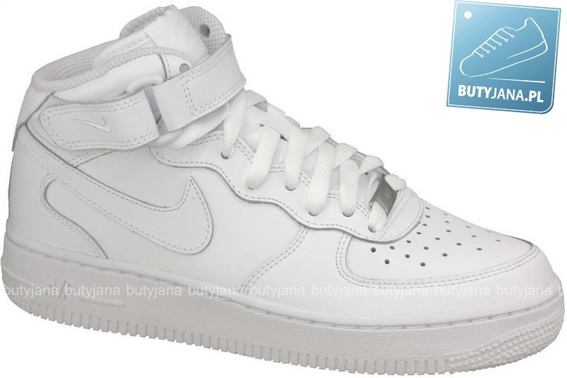 nike air force 1 mid white damskie