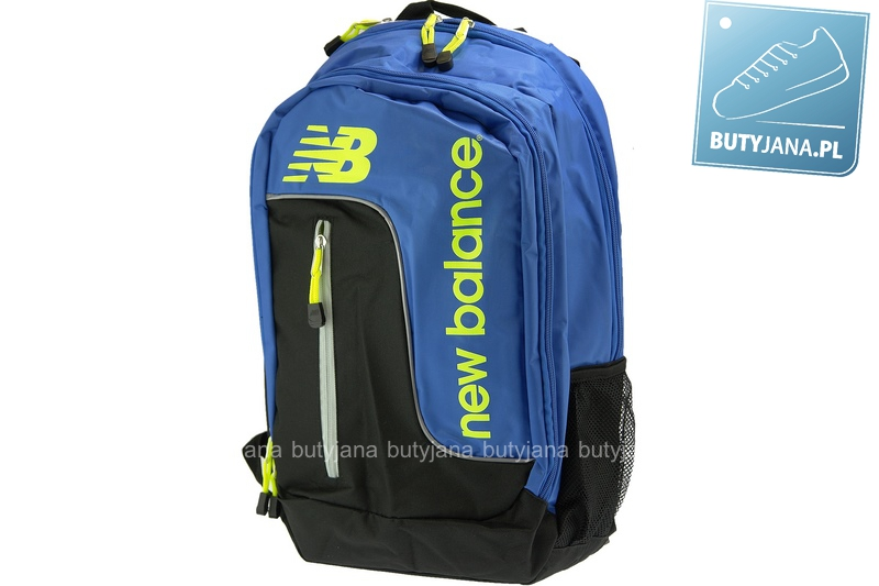 plecak firmowy niebiesko czarny marki new balance nb7652