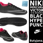 Halówki Nike Mercurial Victory V IC 651635-016 blacj hyper punch
