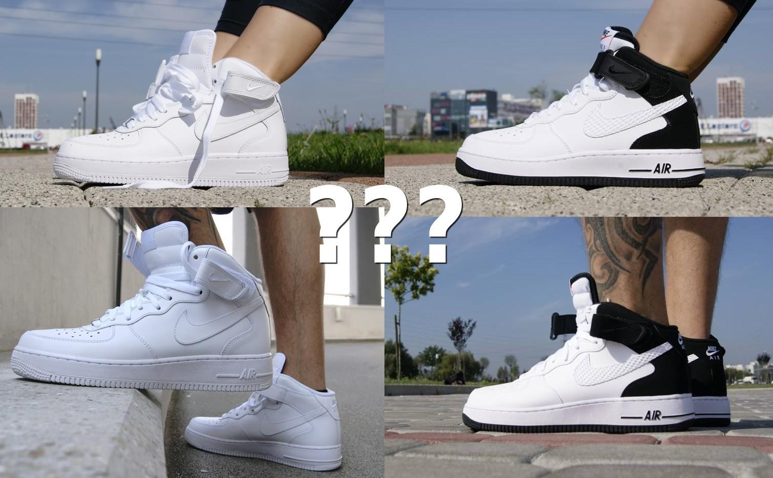 wholesale dealer d0c89 69c19 Czym się różnią Nike Air Force męskie od damskich - sklep Butyjana.pl