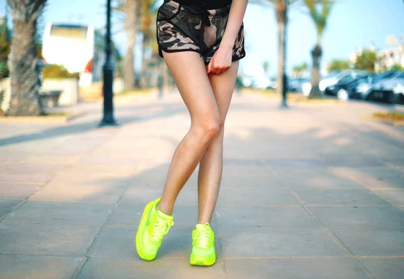 nike air max neon seledynowe Agata 4