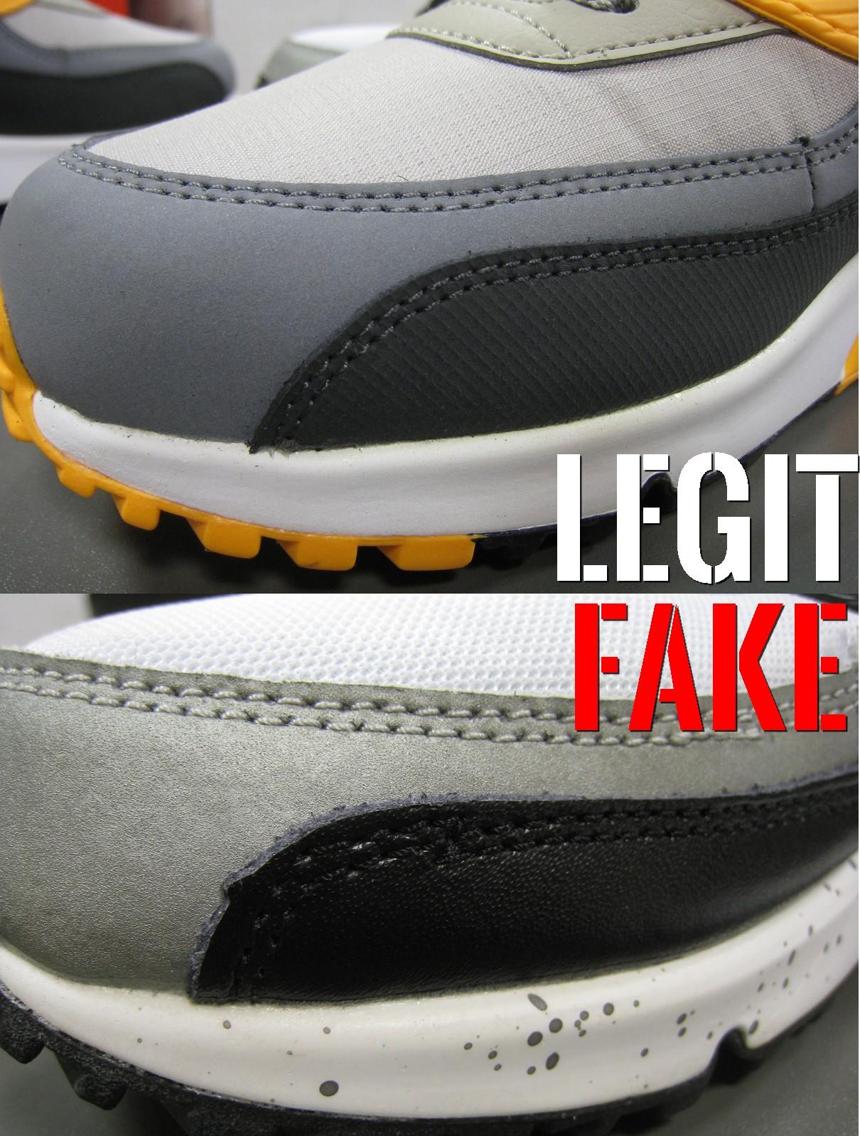 podróbka Nike Air Max 90 przód butów