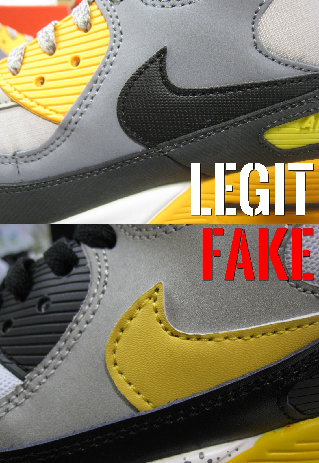 wholesale dealer a55b8 af695 podróbka Nike Air Max 90 swoosh