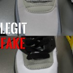 podróbka Nike Air Max 90 toebox