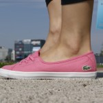różowe tenisówki-baleriny damskie lacoste ziane chunky 2