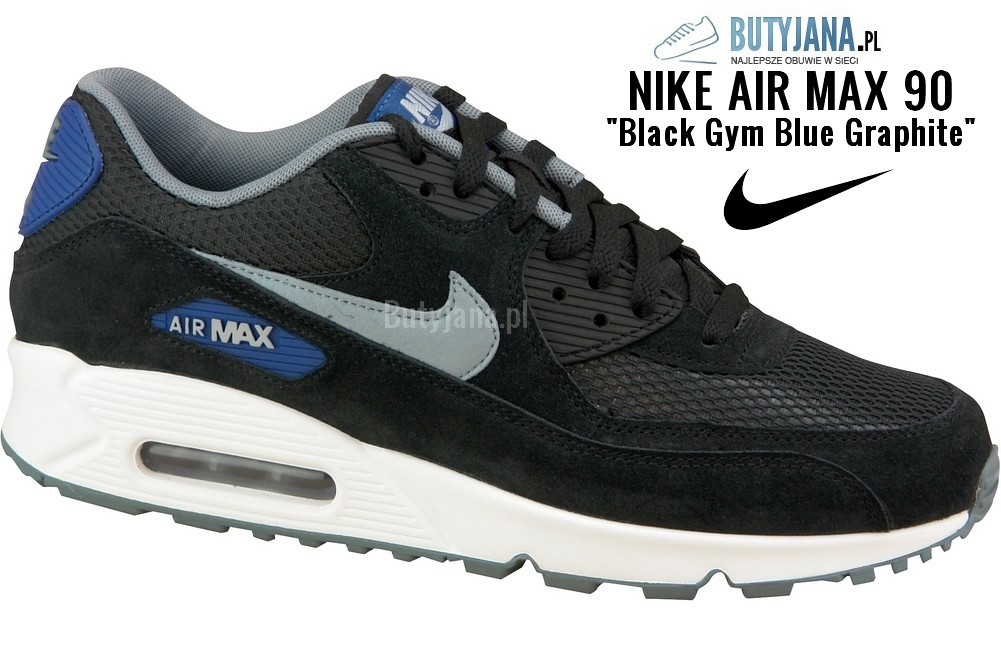 Air Max 90 Black Dv Grey - Gym Blue - Blue Graphite