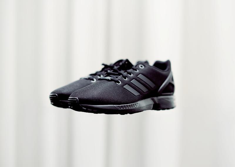 Czarne Adidasy Flux