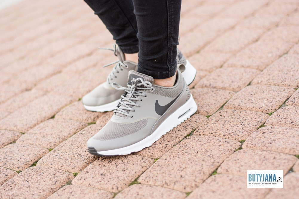 Wmns Nike Air Max Thea 599409 201 Iron Dark Storm – White