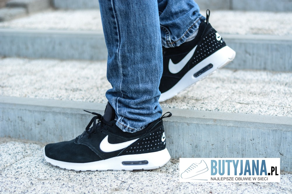 "NIKE AIR MAX TAVAS LTR ""ALL BLACK"" 