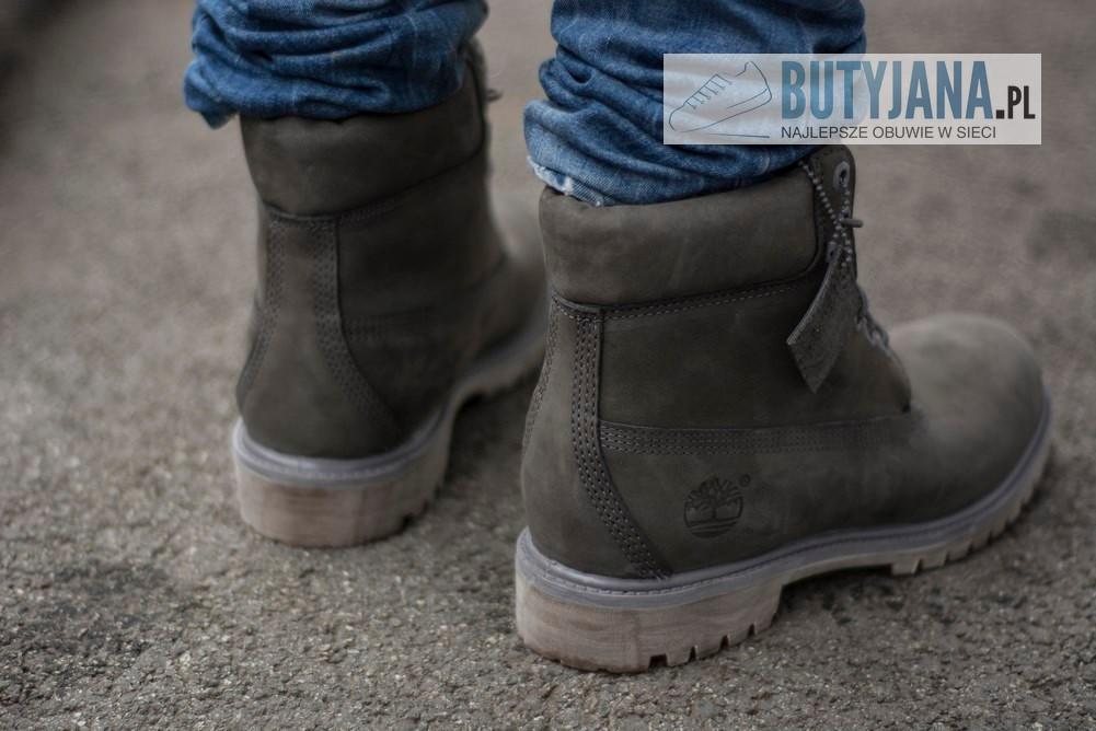 męskie buty zimowe Timberlandy
