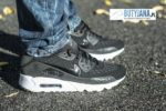 "Nike Air Max 90 Ultra Breathe 725222-001 ""Black Dark Grey"""
