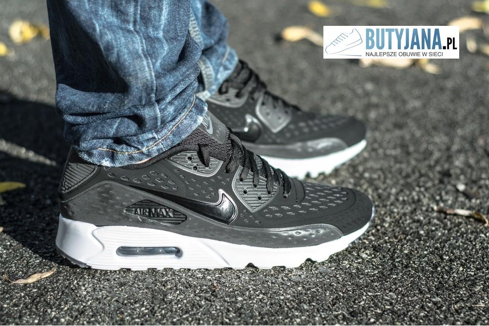 Buty Nike Air Max Tavas Ltr 802611 001 czarne nstyle pl