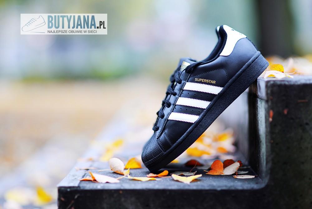 Adidas Superstar Damskie czarne
