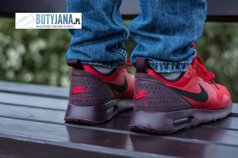 czerwone męskie nike sneakers