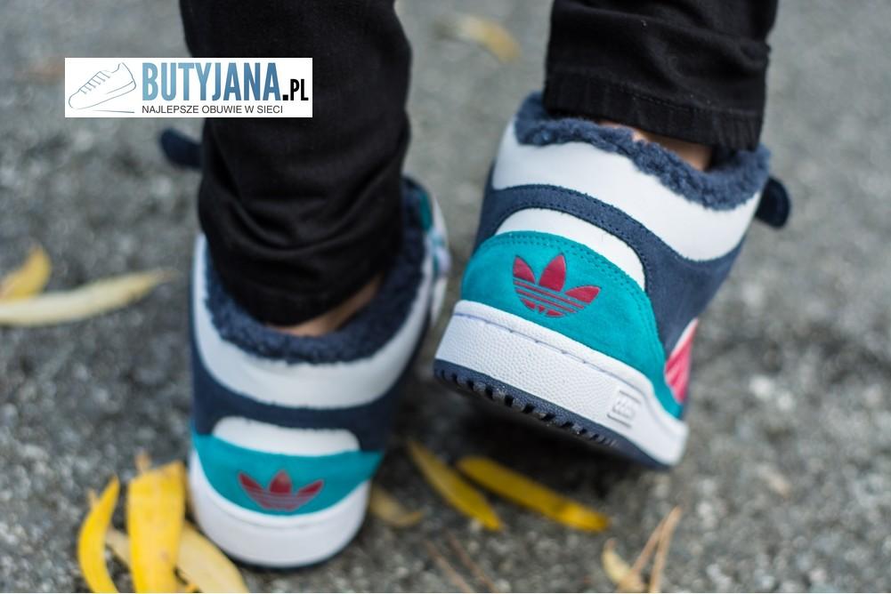 damskie buty ocieplane za kostkę adidas decade – Butyjana.pl
