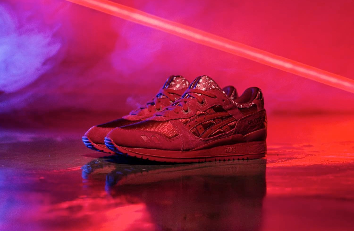 Asics Gel Lyte III Valentine's Day Pack H63QQ-2323 Red