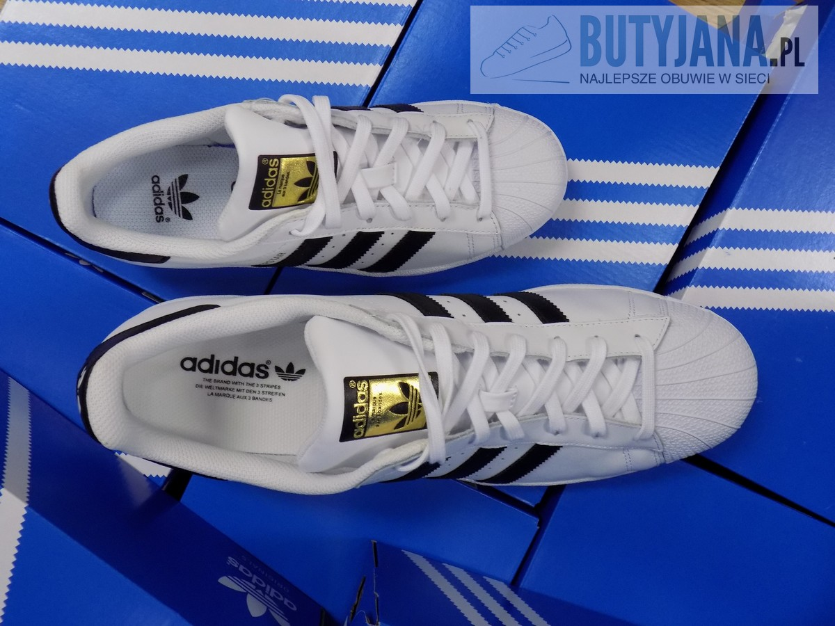 adidas superstar białe