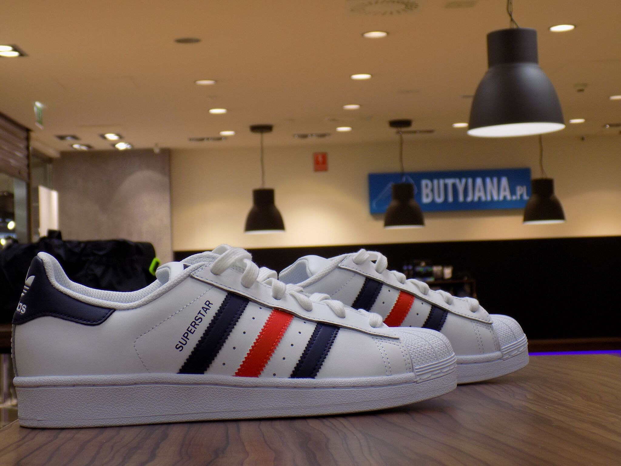 Adidas Superstar Foundation S79208 White Conavy Red
