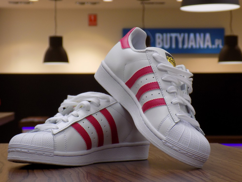 "on sale 0e783 67e70 Adidas Superstar J Foundation B23644 ""Pink Buzz"" – Butyjana.pl"