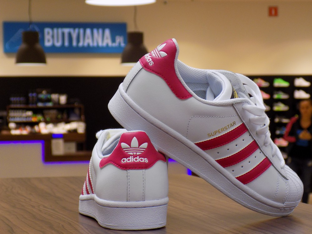 Adidas Superstar J Foundation B23644 Pink Buzz