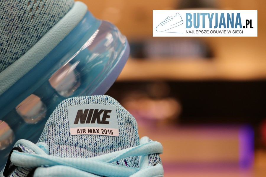 Nike Air Max 2016 oryginalne logo