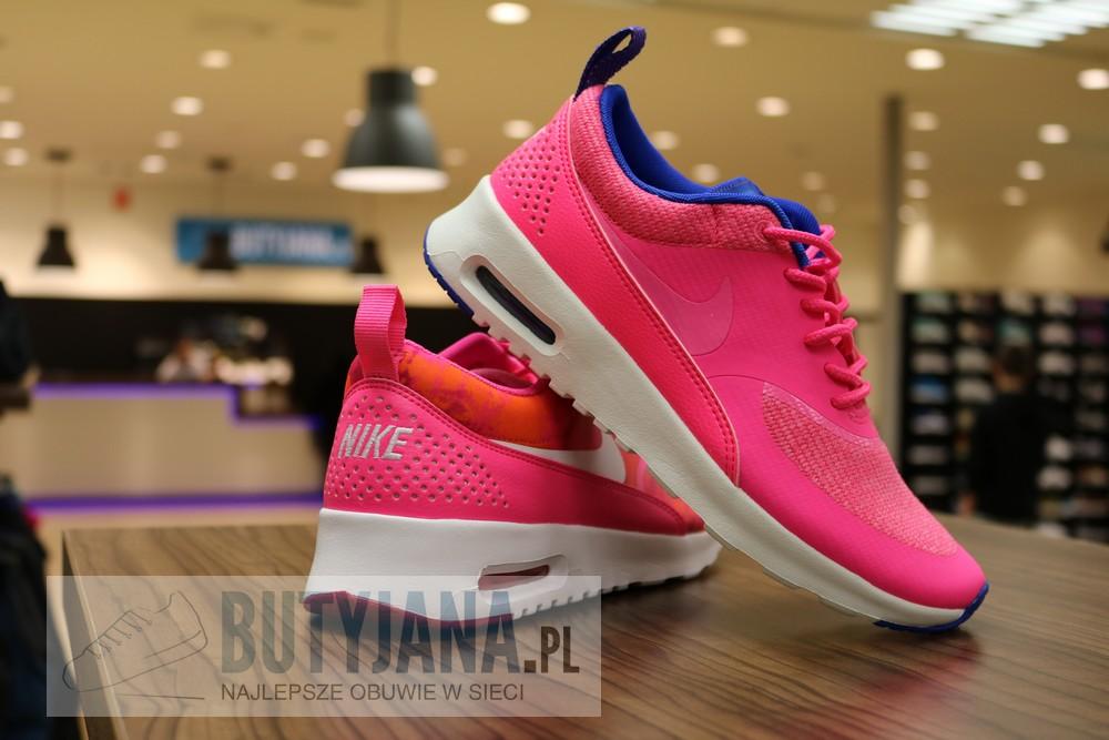 Nike Air Max Thea Premium 616723-601 Hyper Pink Glow Cobalt - damskie 2