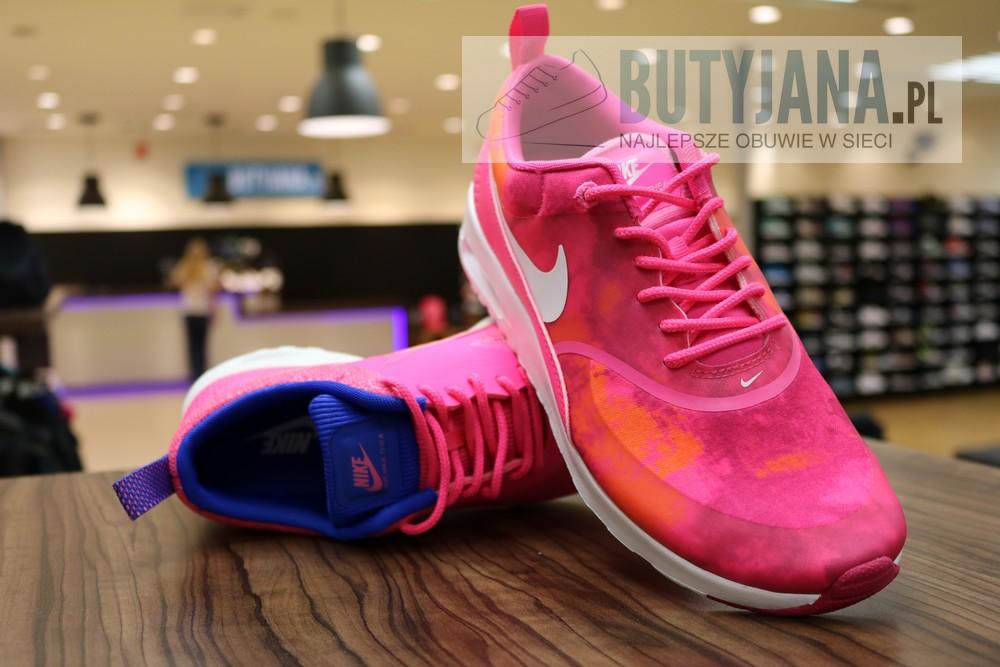 Nike Air Max Thea Premium 616723-601 Hyper Pink Glow Cobalt - damskie 3
