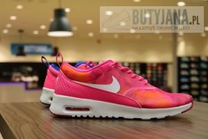 Nike Air Max Thea Premium 616723-601 Hyper Pink Glow Cobalt - damskie