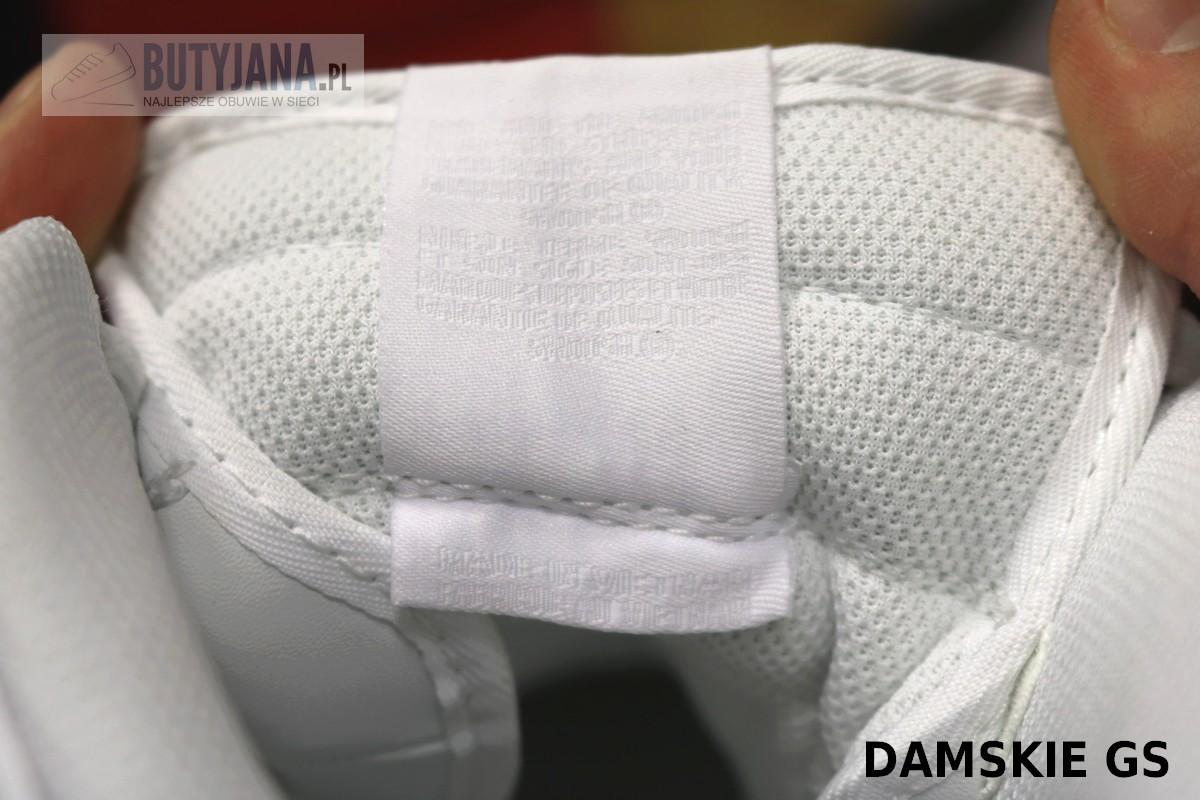 metka na języku Nike Air force One damskie GS