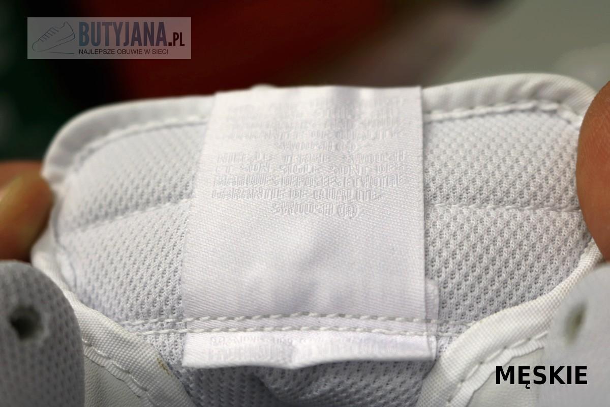 metka na języku Nike Air force One męskie