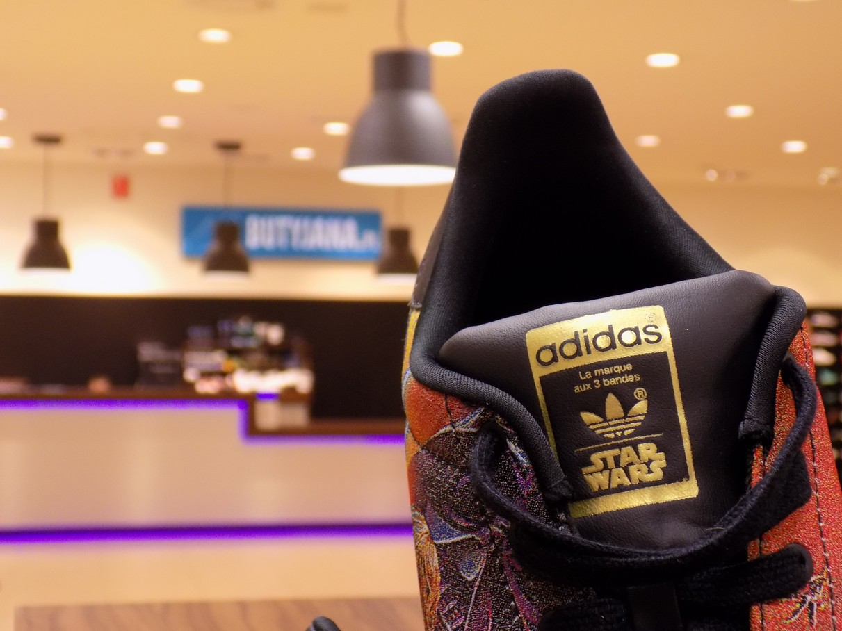 adidas superstar star wars collection logo