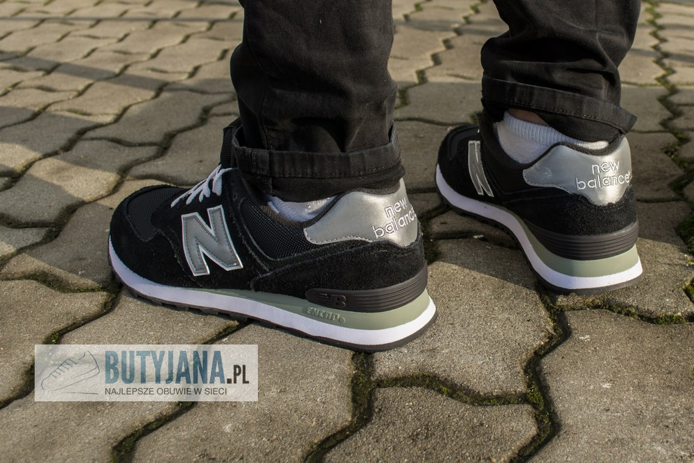 new balance czarne