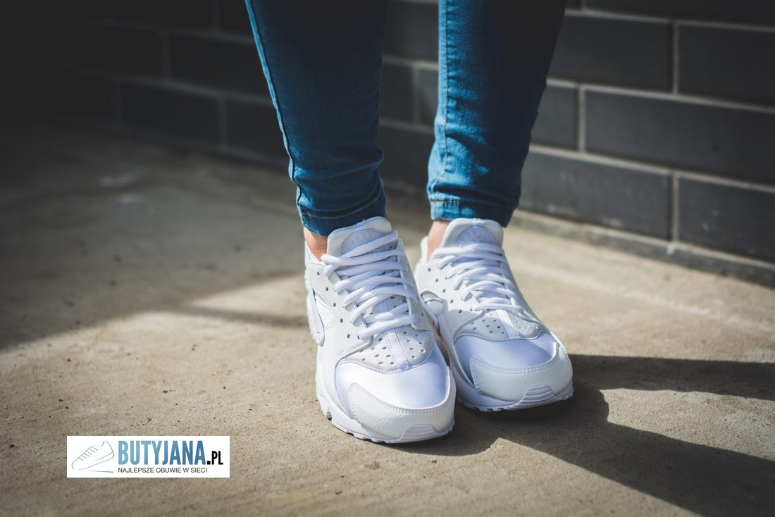 sports shoes d90d6 157ff ... damskie nike huarache white nike huarache