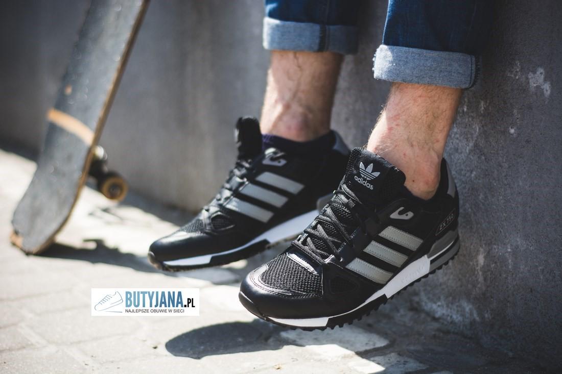 najlepiej tanio niesamowita cena nowe style Buty Adidas ZX 750 męskie czarne. – Butyjana.pl