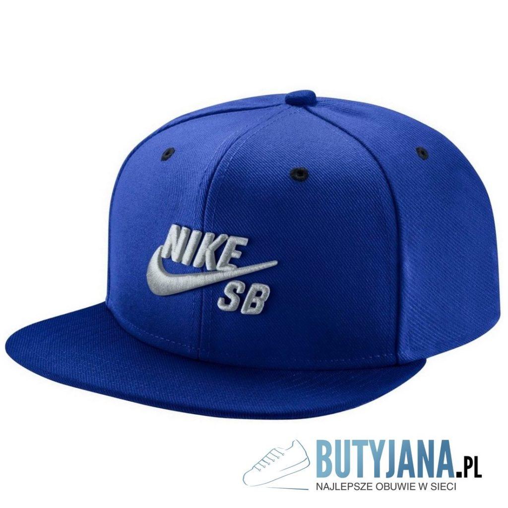 czapeczka nike niebieska SB