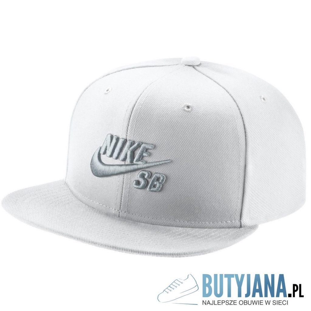 nike SB czapeczka snap back biała