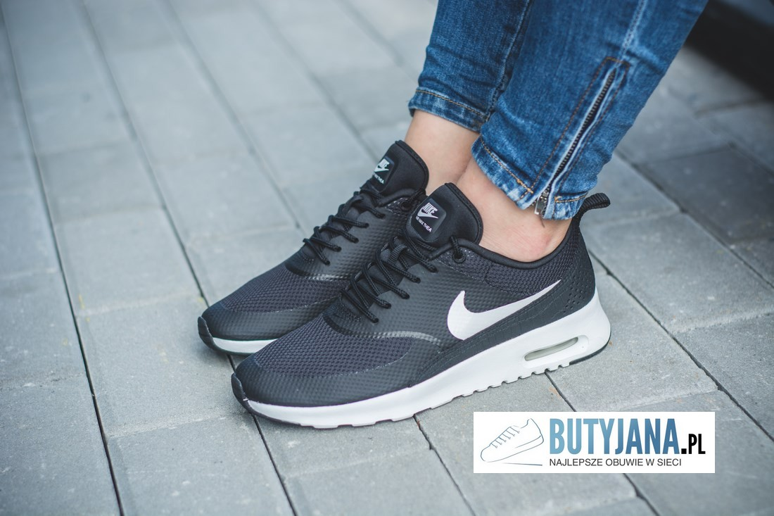 Damskie Wmns Nike Air Max Thea 599409 020 Black Summit