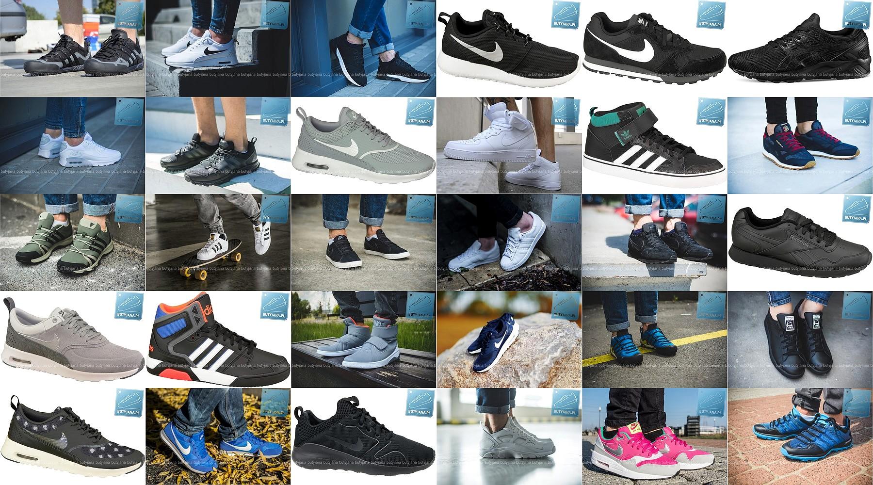buty sportowe pormocja