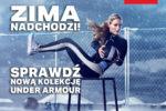 Odzież i obuwie Under Armour zima 2016/2017.