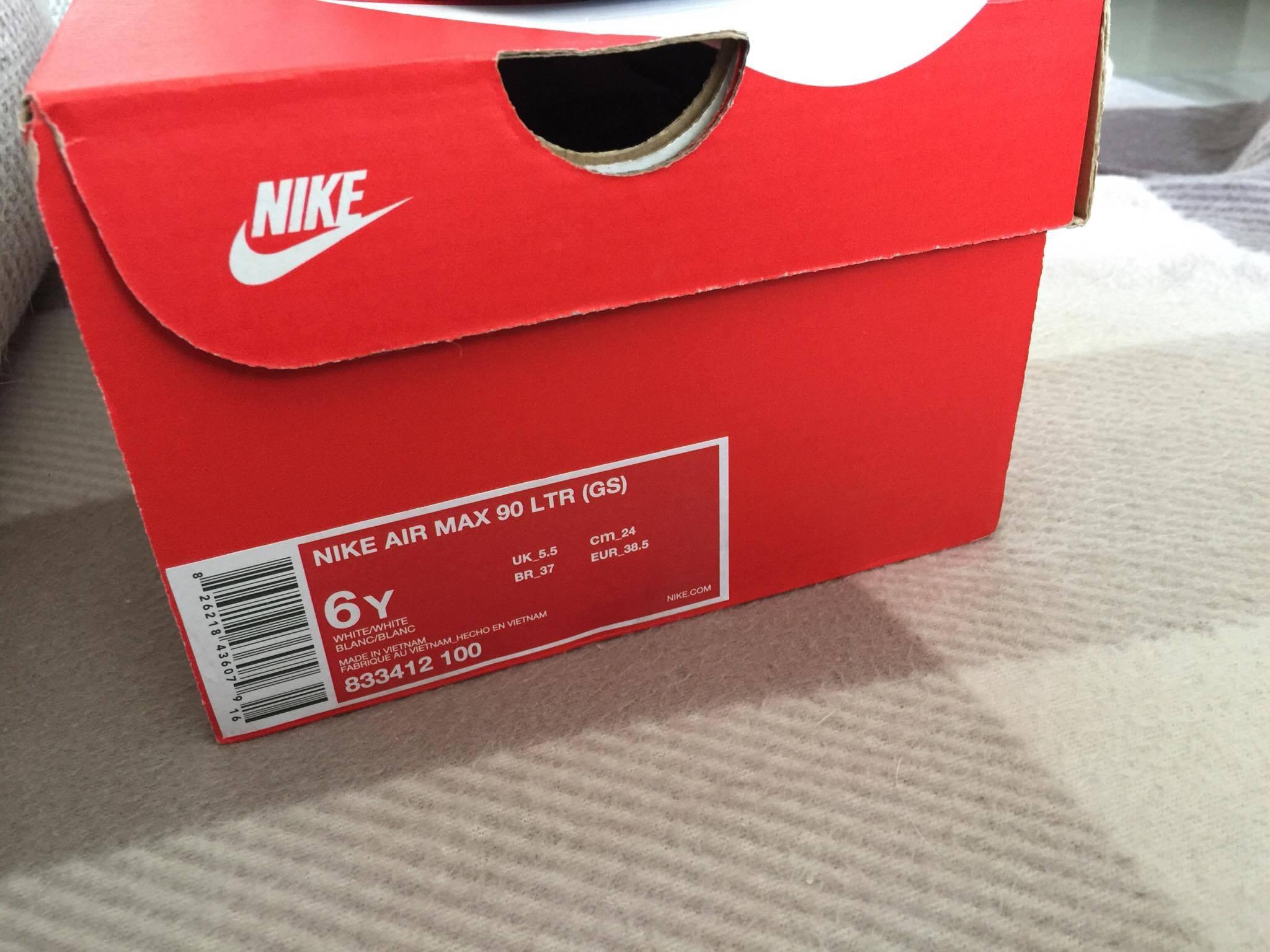 Białe Nike Air Max 90 damskie oryginał czy podórbki 1